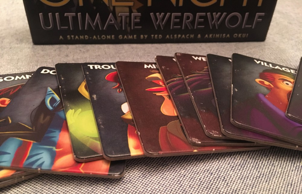 Game Review: One Night Ultimate Werewolf – He Said, She Said