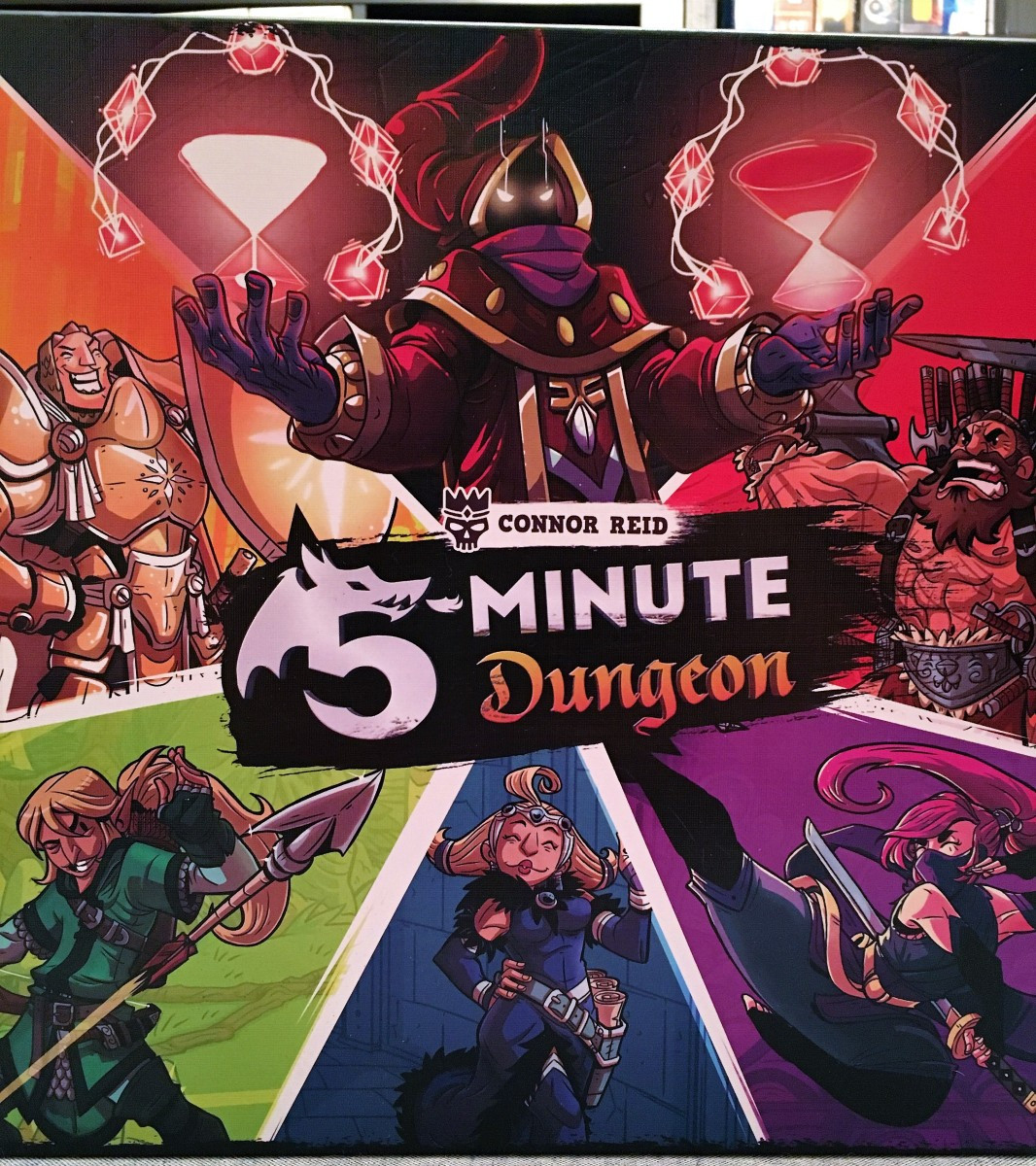 Game Review - 5 Minute Dungeon
